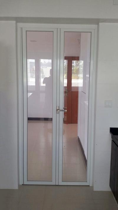 DFD Kitchen Entrance - Deluxe Fold Door Pte Ltd