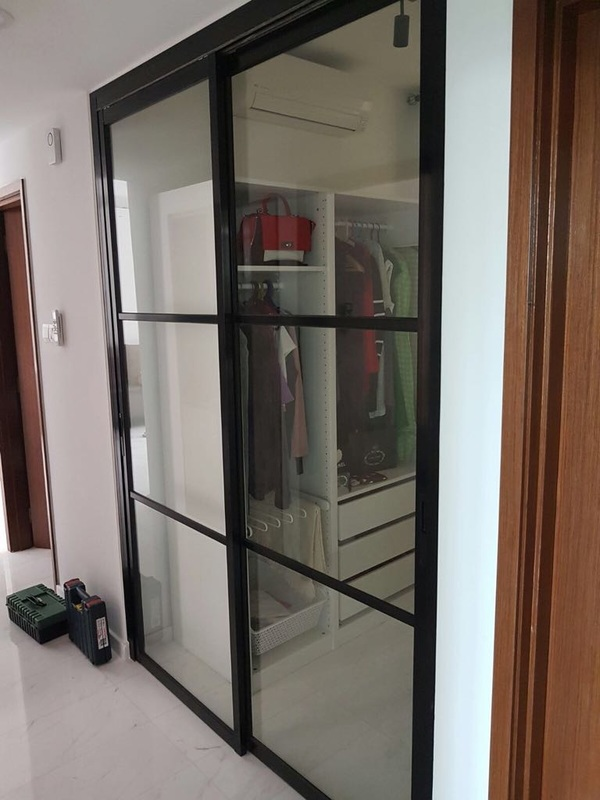 Lovely DFD Top Hung Sliding Door